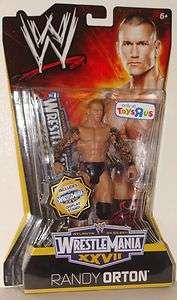 RANDY ORTON TOYS R US LTD ED. WWE WRESTLING MATTEL WRESTLEMANIA XXVII