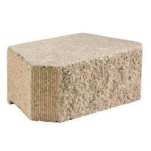 16 In. X 16 In. Concrete Garden Wall Block 83627 at The Home Depot