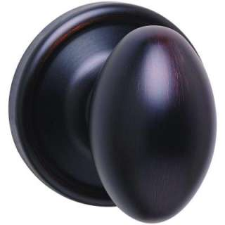 Kwikset Laurel Venetian Bronze Half Dummy Knob 788L 11P at The Home