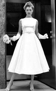 1950s style classic wedding dress gown new size 20/22