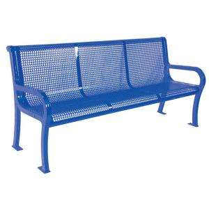 Ultra Play Commercial Park 6 ft. Lexington Bench  Portable and/or