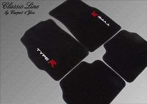 Fußmatten für Honda Civic Type R 95´ 2000 Autoteppich