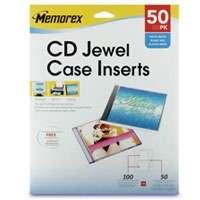 Memorex 32021965 Mutli Color CD,DVD, Blu Ray Sleeves   50 Pack