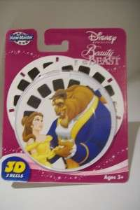 View Master BEAUTY AND THE BEAST Disney 3 reel 3D
