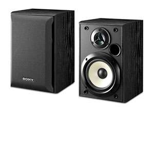 Sony SS B1000 Bookshelf Speakers   5 1/4 Inch Woofer, Frequency