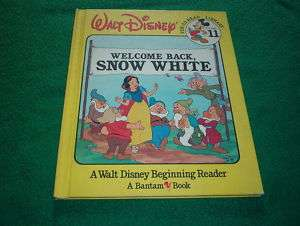 Walt Disney Fun To Read Library Welcome Back Snow White
