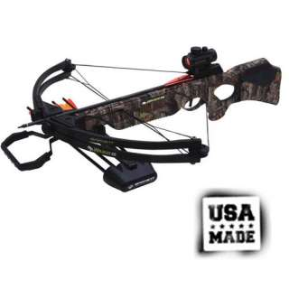 Barnett Wildcat C5 Camo 150 lbs Compound Crossbow   Premium Red Dot