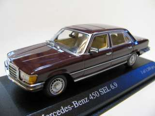 43 Minichamps Mercedes Benz 450 SEL 6.9 (dark red) 1974