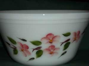 Federal Glass Pink Blossom 9 Splashproof Mixing Bowl