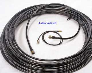 XM Sirius Long Cable Kit home or commercial Pro antenna 80FT RG 6, SMB
