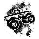 Monster Truck American Apparel Organic Toddler T Shirt