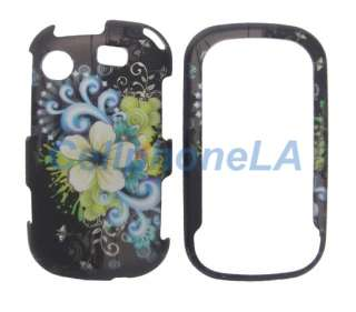 Samsung Messenger Touch R630 Yellow Bouquet Case Cover