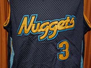 DENVER NUGGETS ALLEN IVERSON #3 adidas JERSEY MENS XL