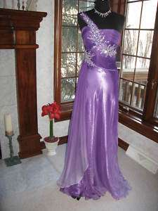 Night Moves 6228 Purple Ombre Pageant Prom Gown 4