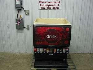 Cornelius 10 Head Soda Pop Fountain Machine w/ Ice Dispenser IDC255