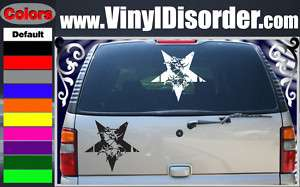 Sepultura Star Band Vinyl Car or Wall Decal Sticker LG