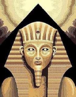 KING TUT TUTANKHAMUN EGYPTIAN PYRAMID AREA RUG