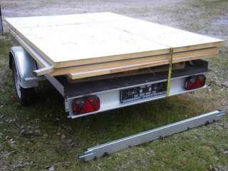 Kofferanhänger für Heimwerker zum Selber bauen /  fertigstellen in