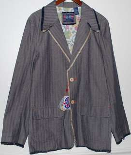 NWT English Laundry Mens Gray Blazer Jacket Size M