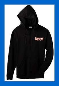 SLIPKNOT LICENSED LOGO ZIP HOODIE NEW t shirt METAL rock