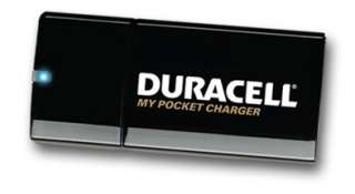 DURACELL POCKET CHARGER FOR YOUR CELL PHONE iPOD, iPHONE, BLACKBERRY