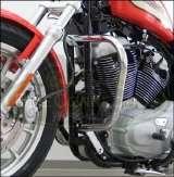 Sissy Bar mit Gepäckträger Harley Custom Nightster Low