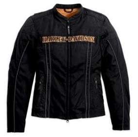 Harley Davidson Silver Springs Textile Riding Jacket Size M