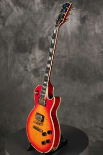 1997 Gibson Les Paul Custom CHERRY SUNBURST FLAME TOP