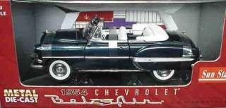 18 1954 Chevrolet Belair convertible BLUE