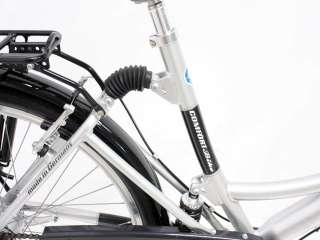 PROPHETE Damen City Full Suspension Fahrrad 26 7 Gang SRAM