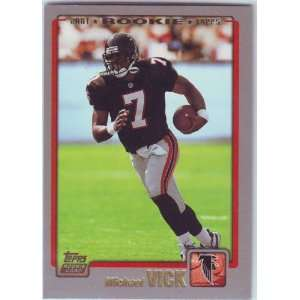 2001 Topps Football Atlanta Falcons Team Set Sports