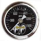 Auto Meter Tachometer Gauge 5 Monster Tach Rev Counter Black 8,000 RPM