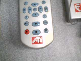 ATI TECHNOLOGIES, INC. RF REMOTE CONTROL WITH WIRELESS PC CONTROL W