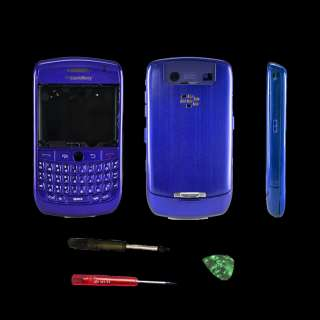 Blackberry Curve 8900 Housing Case FacePlate with Tools (Blue)