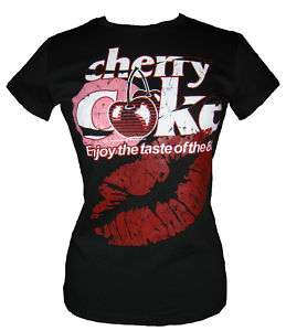 Cherry Coke Womens T shirt New Free P&P S,M,L,XL
