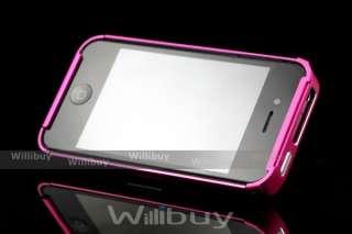 Custodia iShock Alluminio per Apple iPhone 4 Bumper Case AP411A 01