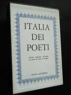 1961 ITALIA DEI POETI ( POETI DI TUTTO IL MONDO)