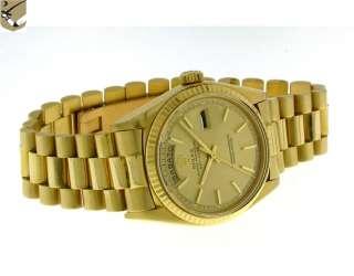 Rolex Day Date 1803 Oro Giallo Automatico