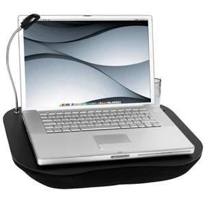 JML Lap Desk Cushion Portable Laptop Tray Table Light Cup Holder As