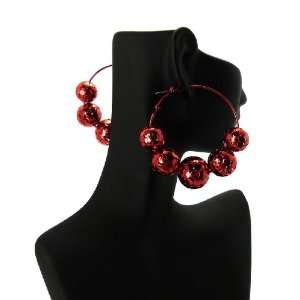 Basketball Wives POParazzi Inspired Hollow Ball Earrings