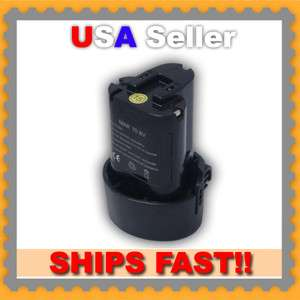 Replacement Battery for Makita 10.8V 1.5Ah Li ion Makita BL1013 194550