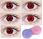 Lot 10 Lentilles Lense Cosplay Sharingan Kakashi Sasuke Itachi Madara