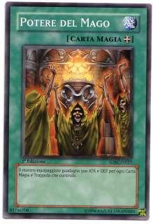 YUGIOH • Potere del Mago Mage Power • 1ª ED ITALIANO