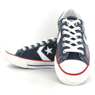 Converse Star Player EV Ox Navy Red Womens Trainers