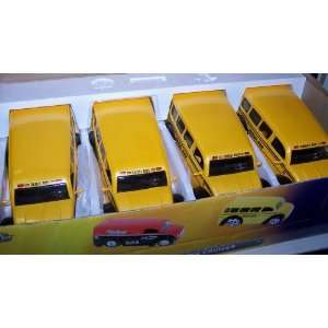 Jada Toys 1/24 Scale D rods Diecast Div Cruizer School Bus