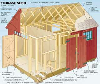 GARDEN SHED GREENHOUSE PLANS. 30+ DETAILED SHED PLANS