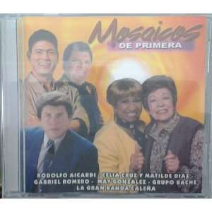 CD POPULAR MOSAICOS DE PRIMERA VARIOUS ARTISTAS Music