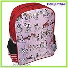 Tyrrell Katz Girls School Bag Backpack Rucksack ~ Horse Rider Pony