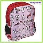 Tyrrell Katz Girls School Bag Backpack Rucksack ~ Horse Rider Pony