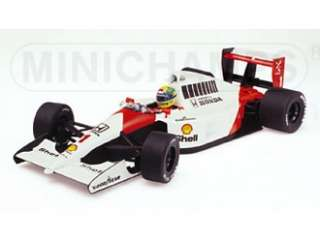McLaren Honda MP4 6 (Ayrton Senna 1991 World Champion) Diecast Model